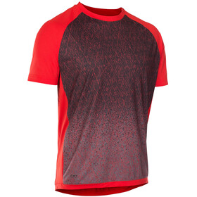 ION Traze_Amp Bike Jersey Shortsleeve Men grey/red